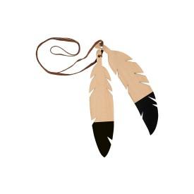 Nobodinoz Feather Duo Black