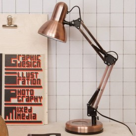 Present Time Hobby Lamp Kopar