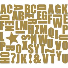 Groovy Magnets Alphabet seglar Kopar
