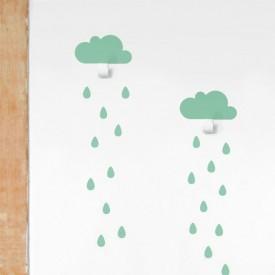 Tresxics 2 Clouds & 20 Raindrops Mint