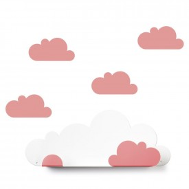 Tresxics Shelves Cloud + 4 stickers Pink