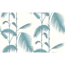 Cole & Son Palm Leaves - Dökkgrænt/Hvítt
