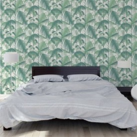 Cole & Son Palm Jungle Grænt