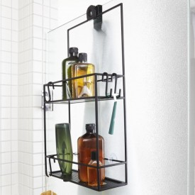 Umbra Cubiko Shower Caddy Black