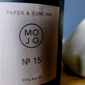 Mojo No. 15 -  Paper & Sumi Ink Ilmkerti