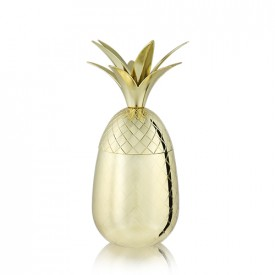 Viski Pineapple Tumbler Gold