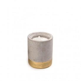 Paddywax Urban Concrete Amber + Smoke