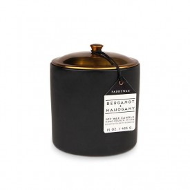 Paddywax Hygge Candle Bergamot + Mahogany 5 Large