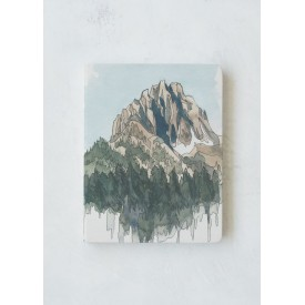 Denik Drawing Mountains Hardcover Skissubók