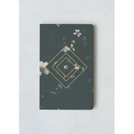 Denik Emerald Floral Stílabók