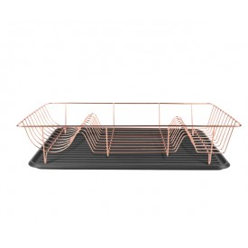 Present Time Dish Rack Linea Copper