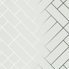 Erica Wakerly - Tapet - Hvítt/Silfur