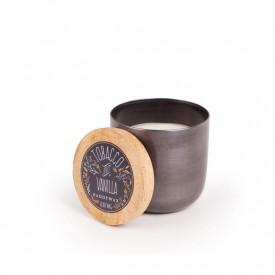 Paddywax Foundry Candle Gunmetal Tobacco & Vanilla