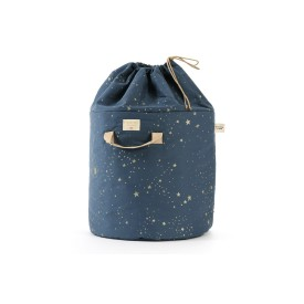 Bamboo Toy Bag Gold Stella / Night Blue