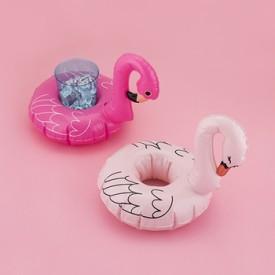 Hello Blush Flock Drink Floaties
