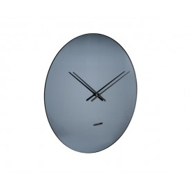 Present Time Mirage Clock Black