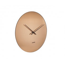 Present Time Mirage Clock Copper