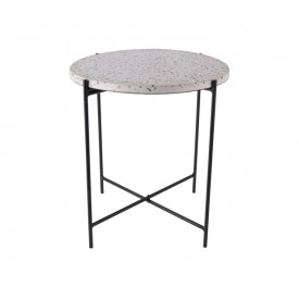 Present Time Side Table Terrazzo Color