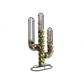 Present Time Coffee Cup Holder Cactus Black