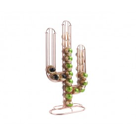 Present Time Coffee Cup Holder Cactus Copper