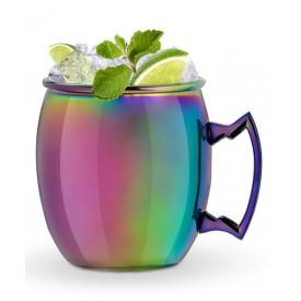 Hello Blush Iridescent Moscow Mule Mug