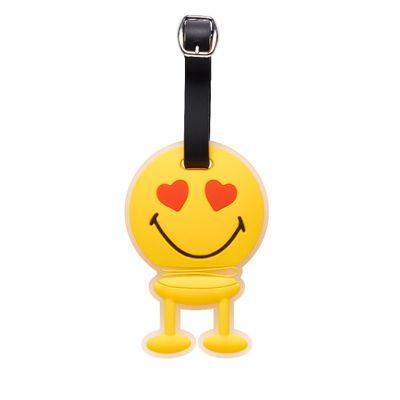 Hoptimist - Yellow. Bagtag Love