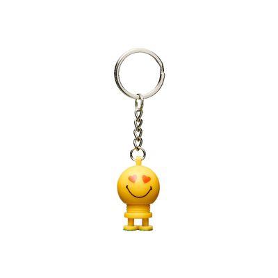 Hoptimist - Yellow. Keychain Love 3D