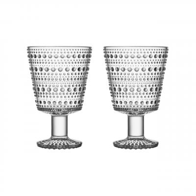 iittala - Kastehelmi (clear) glas á fæti
