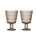 Thumb_iittala - Kastehelmi (linen) glas á fæti