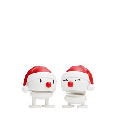 Hoptimist - White. Small Nosy Santa (2 pcs.)
