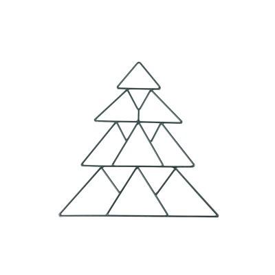 Arni metal Christmas tree 35cm