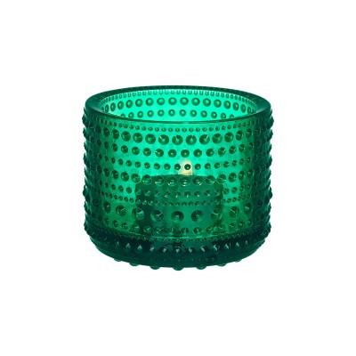 Iittala - Kastehelmi Kertastj. (emerald)