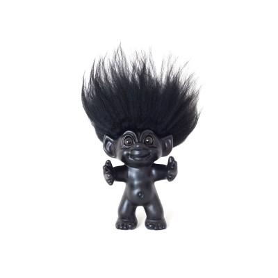 Lukkutröll - svart/svart 12cm