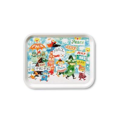 Moomin bakki 27x20 cm Unicef - Peace