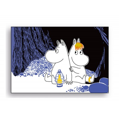 Moomin Segull Moomin night