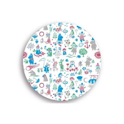 Moomin hitaplatti Pattern design