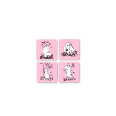 Opto Design - Moomin Glasamotta 4stk