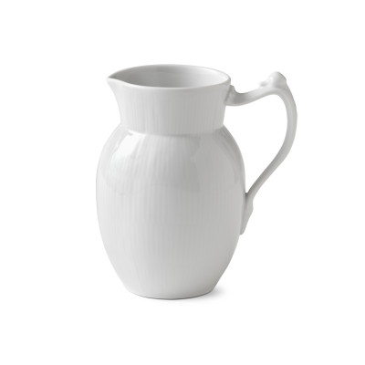 Royal Copenhagen - White Fluted kanna 90cl
