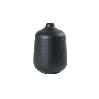 Speedtsberg - Keramik vasi Zida D17x25cm matt svartur