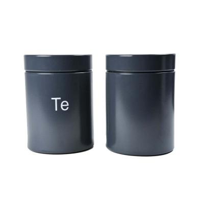 Speedtsberg - Te box tin D11x16cm grátt
