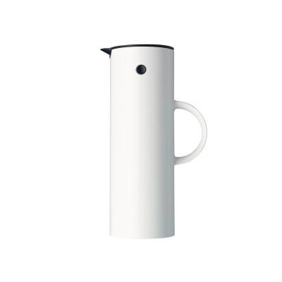 Stelton - EM77 kaffikanna 1L hvít