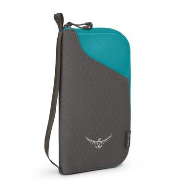 Document Zip Wallet Tropic Teal