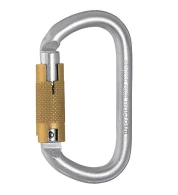 Steel Oval Triple Lock