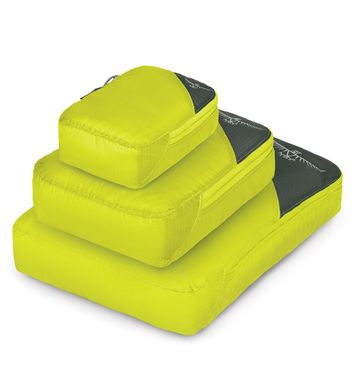 Packing Cube Set Electric Lime