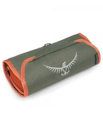 Ultralight Washbag Roll Poppy Orange