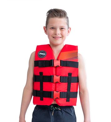 Nylon Vest Youth Red