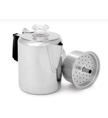 GSI Stainless Coffee Maker 6 Cup