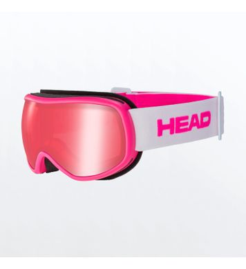 Ninja Head Gleraugu barna Red/Pink