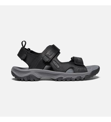 KEEN Targhee III Open Toe Sandal Black-Grey
