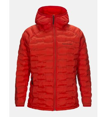 Argon Light Hooded Jacket DRed
